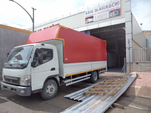 Birtek Nakliyat Mitsubishi Perdeli Kasas� Gururla Teslim Edilmi�tir