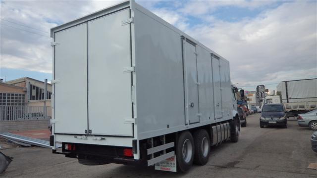 �lger Grupa Ait 2 Adet Ford Cargo ��in �mal Edilen S�rat Kargo Kasas� Gururla Teslim Edilmi�tir...25.05.2012
