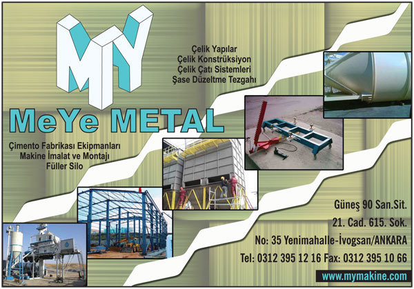 Meye Metal Ltd.�ti Konteyner Se�imini Bizden Yana Kulland�